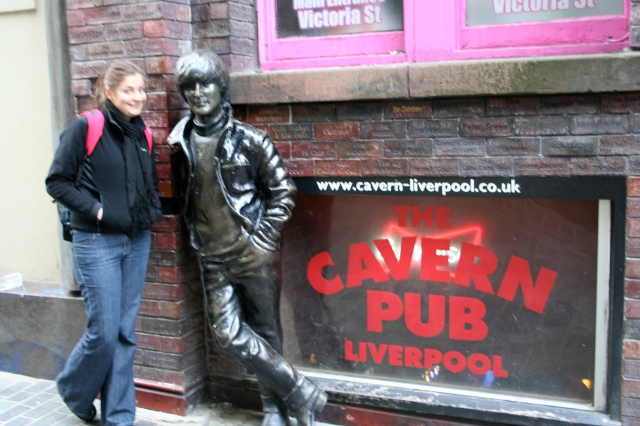 The Cavern Pub - where the Beatles got their start.