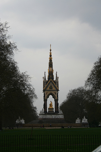 Albert Memorial in Hyde Park