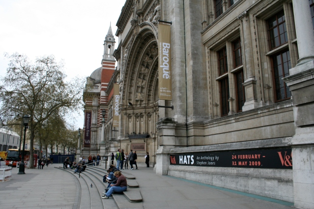 The famous V&A