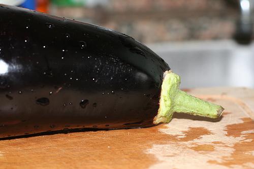 Gorgeous eggplant