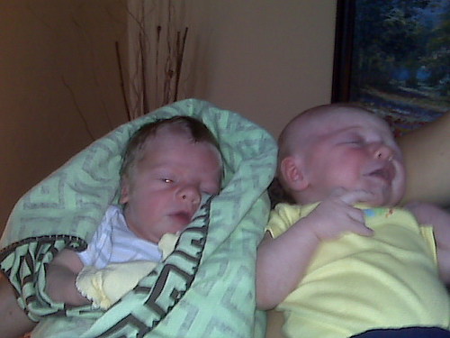 Ashton and cousin Caleb