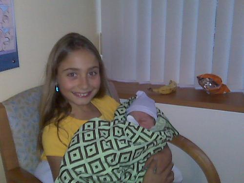 Little Auntie Katie and Ashton