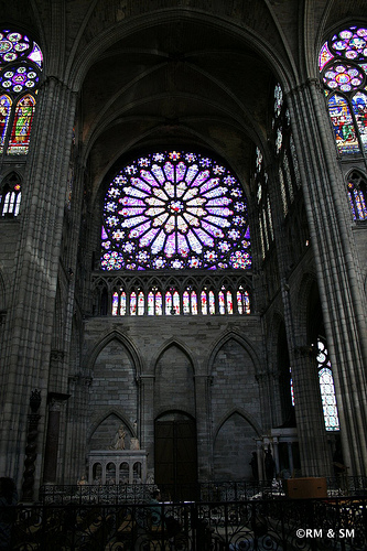 Gorgeous Rose Window