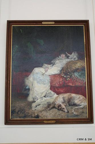 Portrain of Sarah Bernhardt