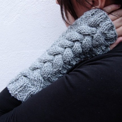 Fingerless gloves on etsy
