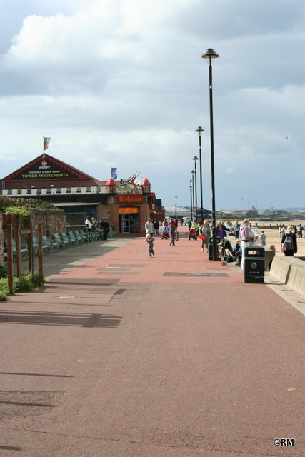 Of course, a Promenade in the UK is not complete without an arcade.
