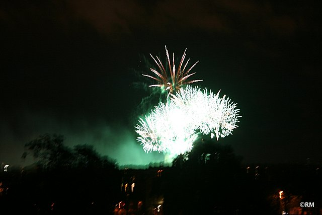 Nearly all the fireworks accompanied Handel's gorgeous songs.