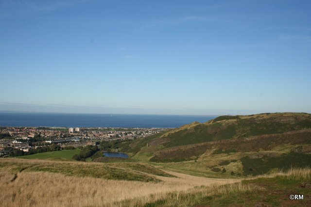 North-East toward the FIrth and North Sea