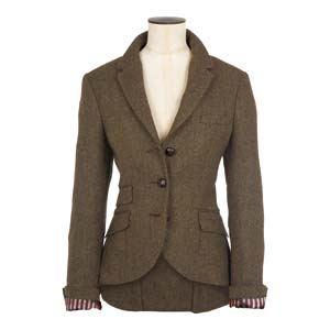 The perfect tweedy blazer