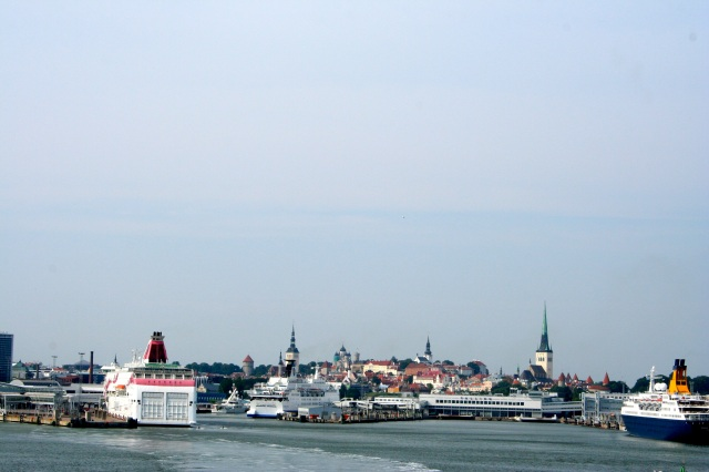 Old Town as seen from the ship.