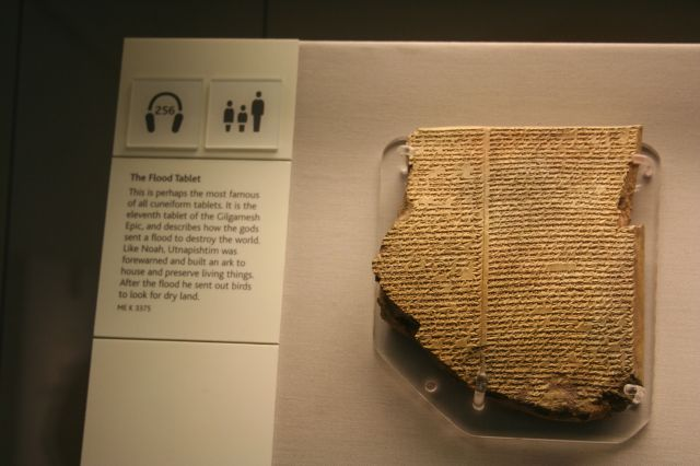 "The ""Flood"" story from Epic of Gilgamesh!"