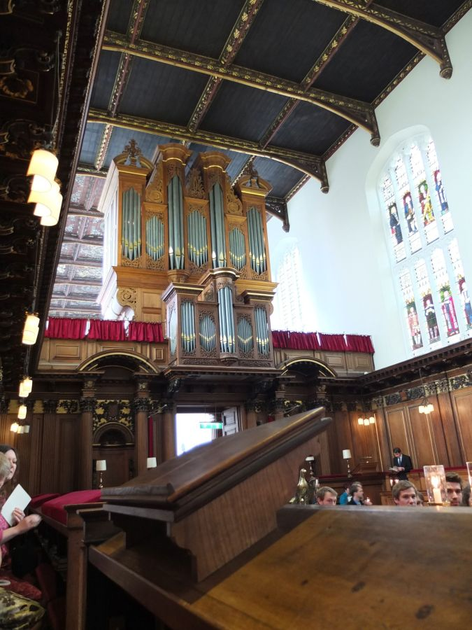 The organ music and Trinity College Choir were spectacular.