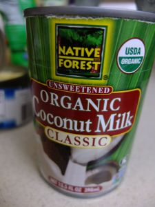 My favorite coconut milk.